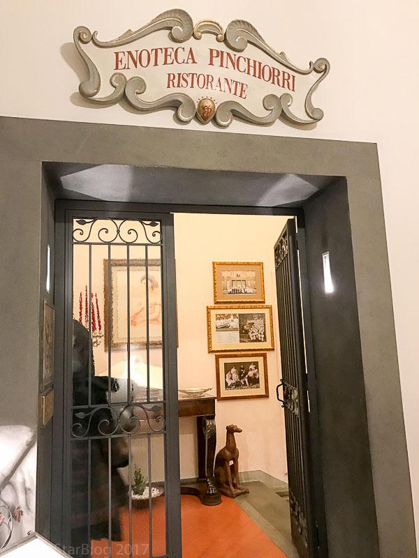 Enoteca Pinchiorri Main Entrance
