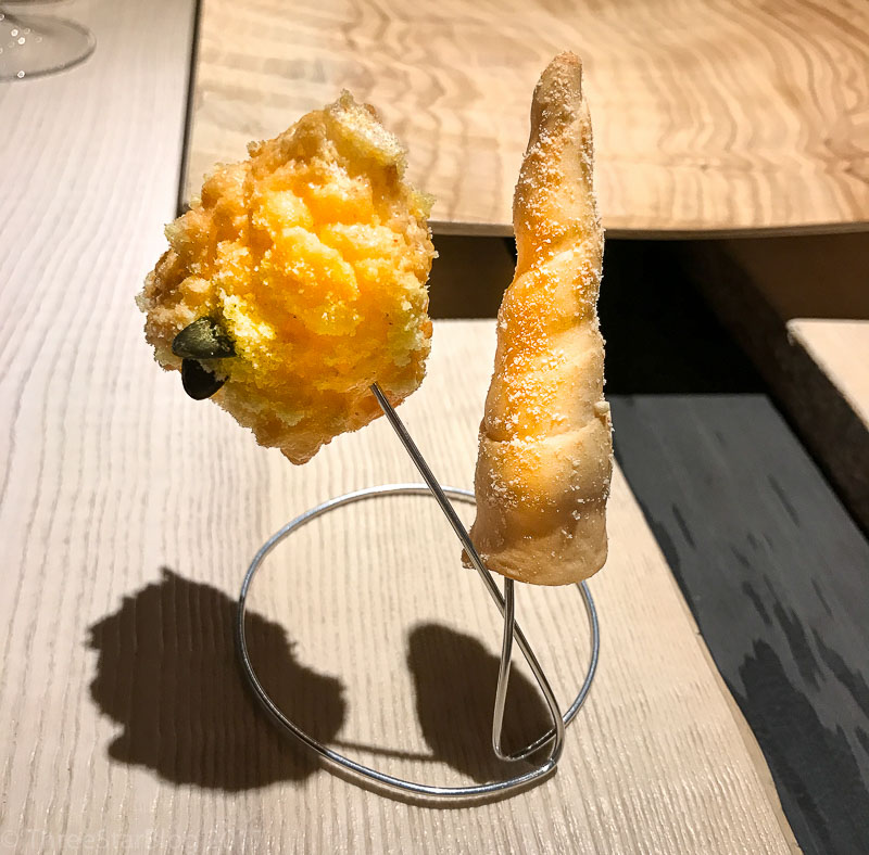 First Bites: Bread Snacks on Sticks, 8/10