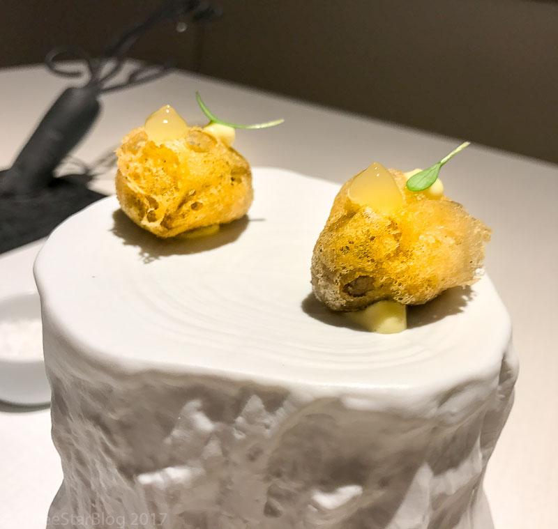 First Bites: Topinambur + Pork, 8/10