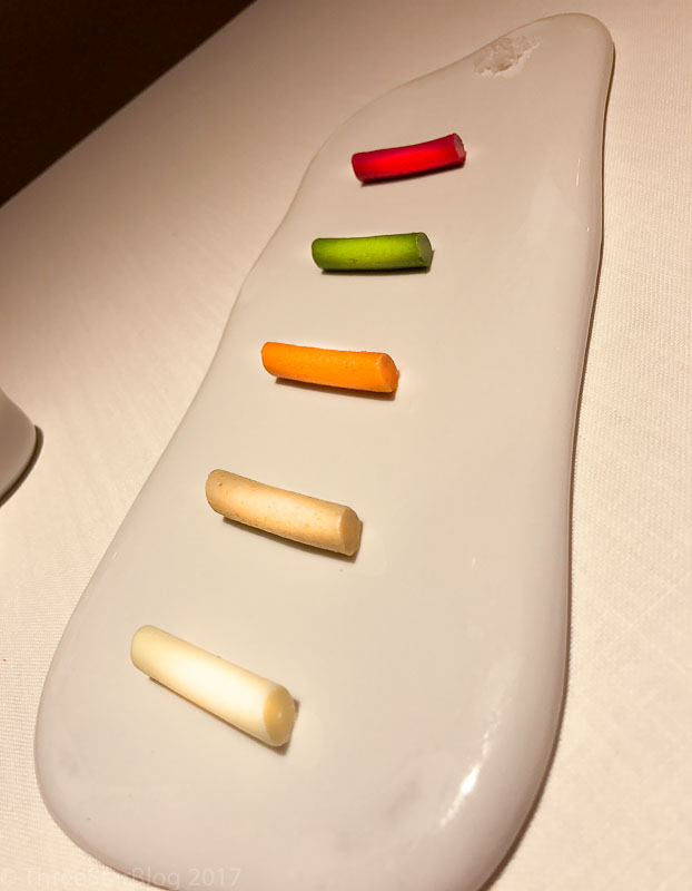 Awesome multi-colored butter tubes