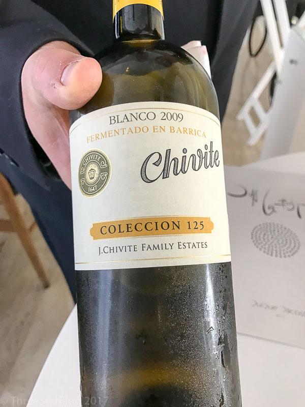 2 009 Chivite Navarra Coleccion 125 Blanco
