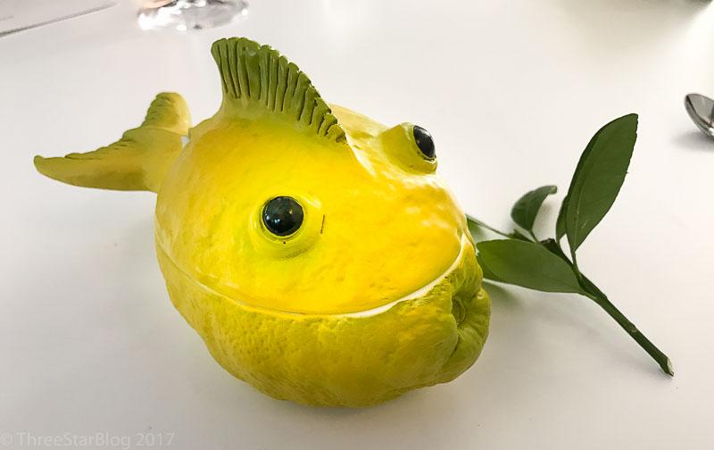 """Course 7- """"Lemon Fish,"""" 9/10"""