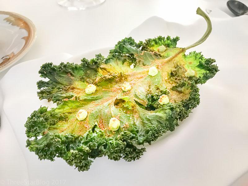 Course 9, part 1: Kale Salad, 8/10
