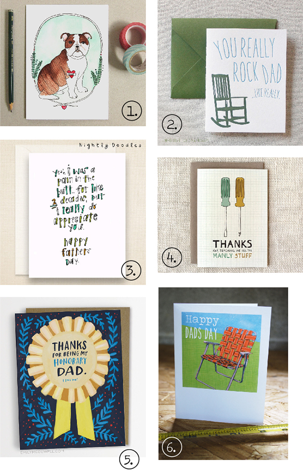 Father's Day Card Roundup 2015