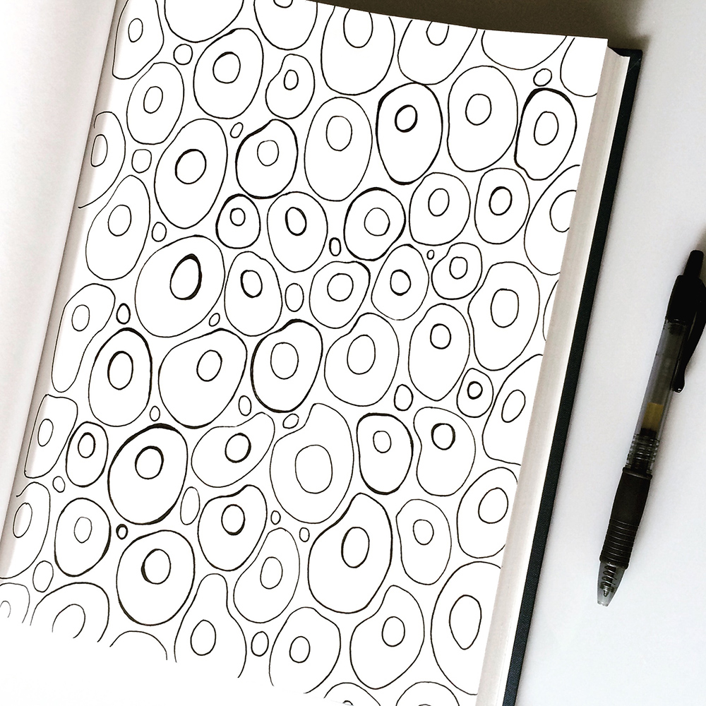 Sketchbook drawing by Jennifer Johansson