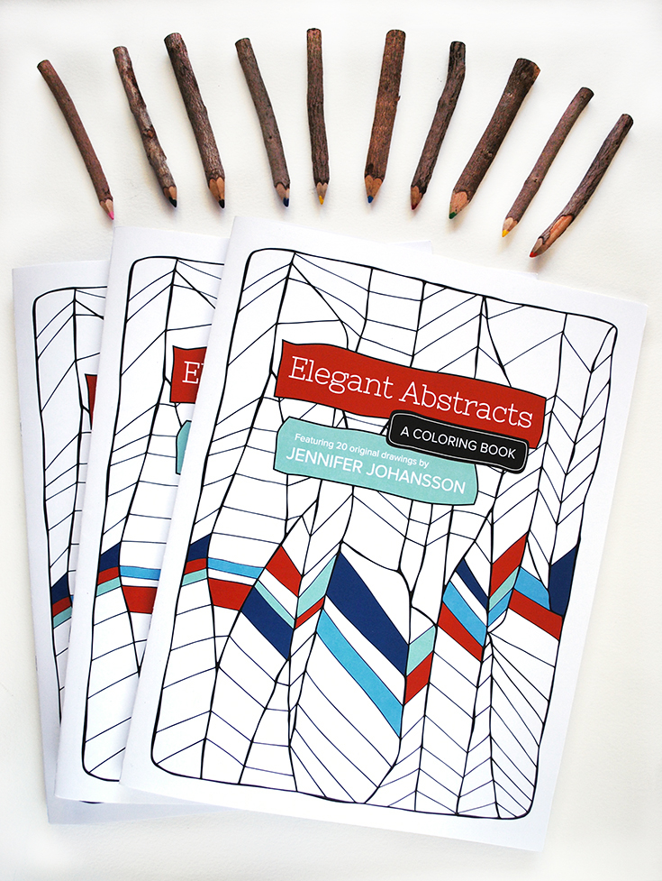 My newest coloring book is now for sale! Click through to purchase.