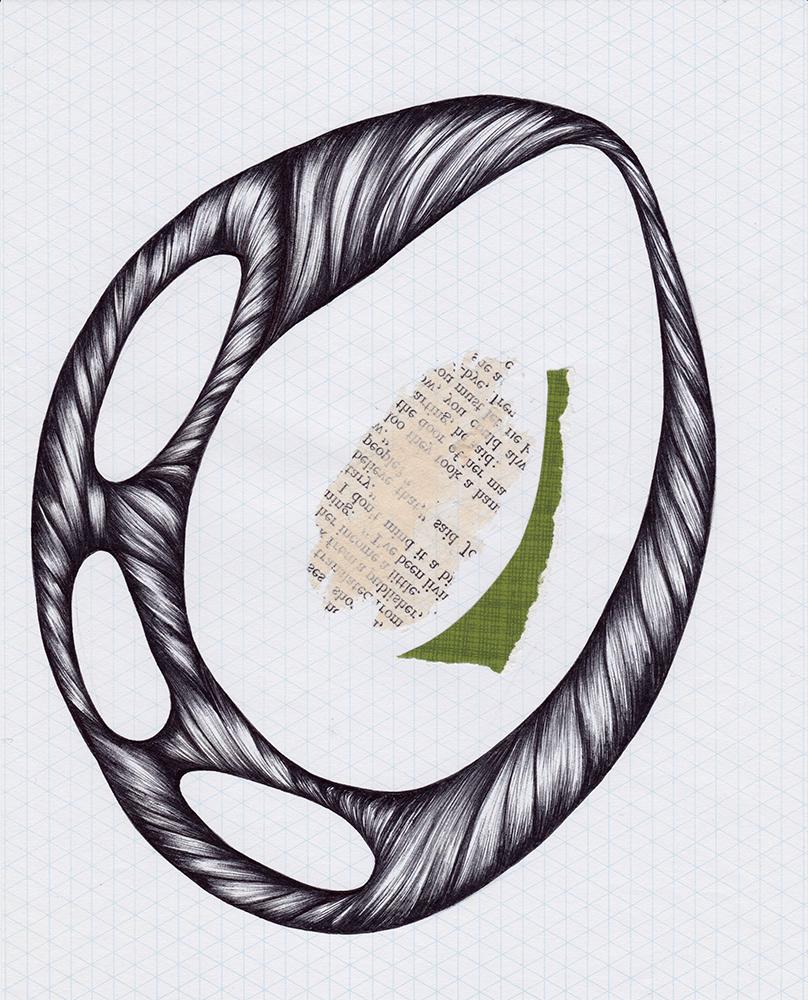 Minimalist Abstract Drawing Uovo Jennifer Johansson