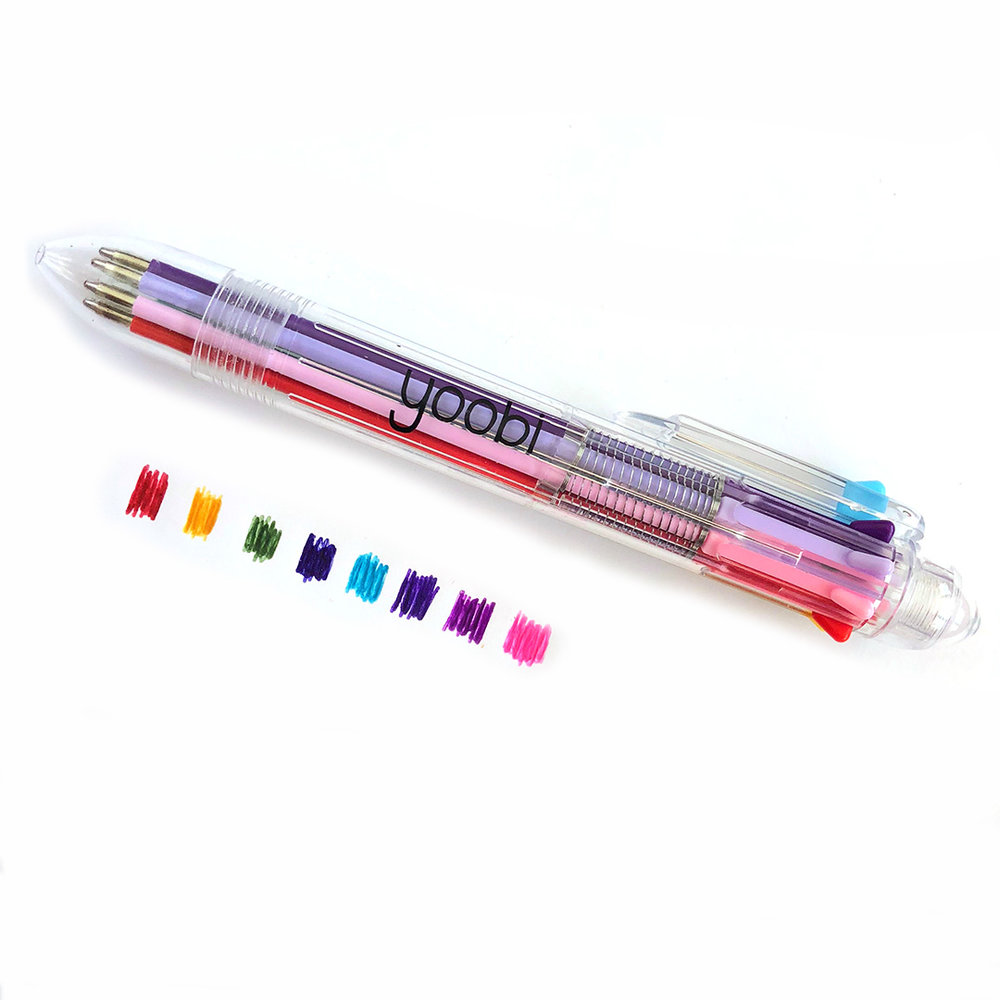 This Yoobi ballpoint pen has yellow and 7 other fab ink colors. Click to purchase one for yourself!