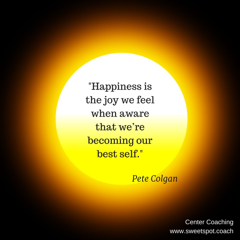 Happiness is the joy we feel when aware that we're becoming our best self..png