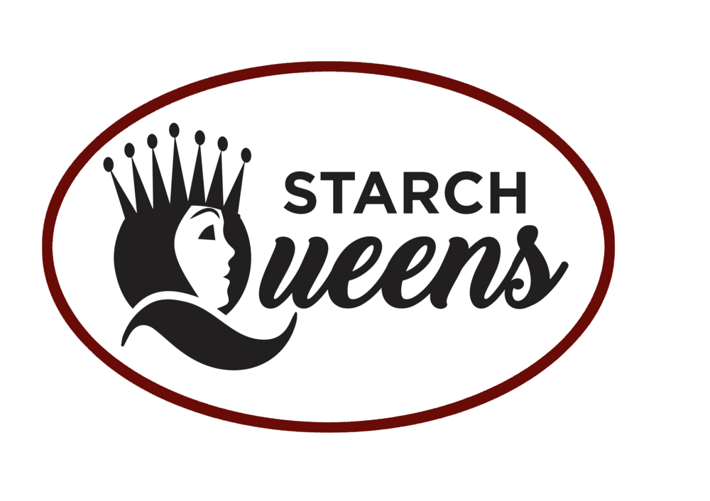 Starch queen logo - black oval x burgundy.png