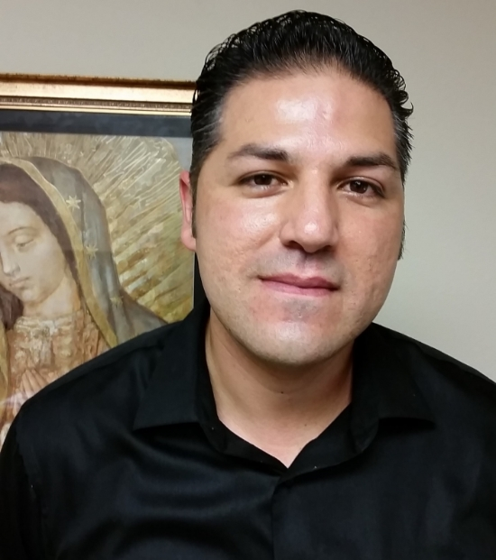 Junior Coronel, Coordinator of Hispanic Ministry