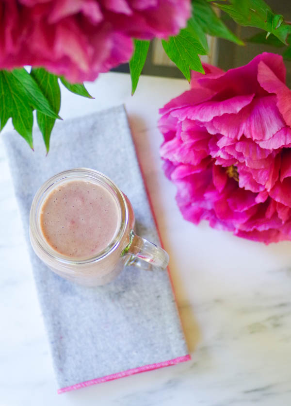 Strawberry Banana Smoothie, by Beautiful Ingredient