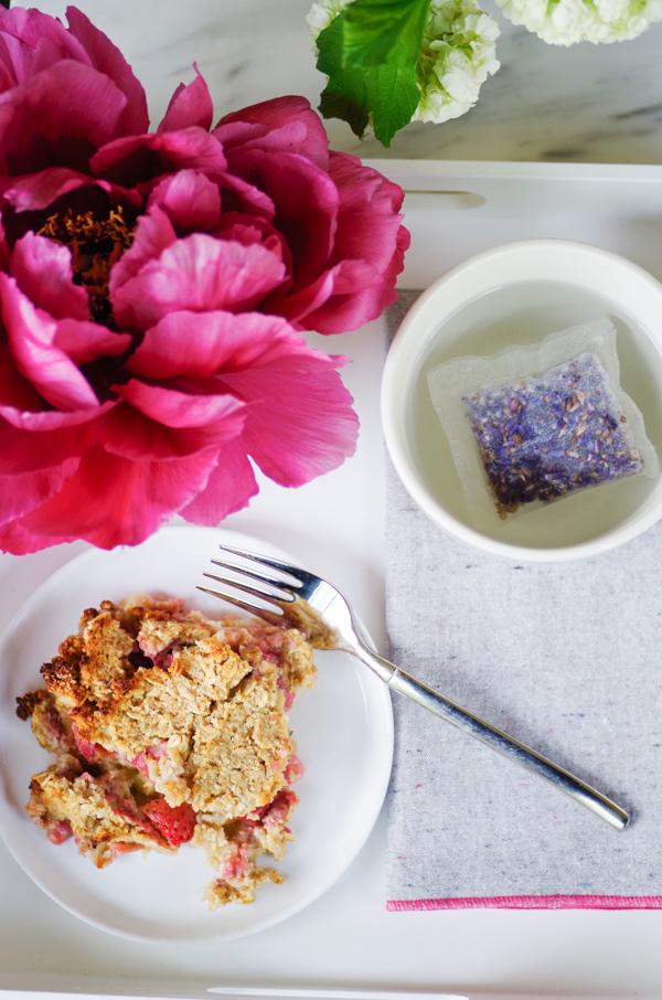 how to make gluten free rhubarb crisp
