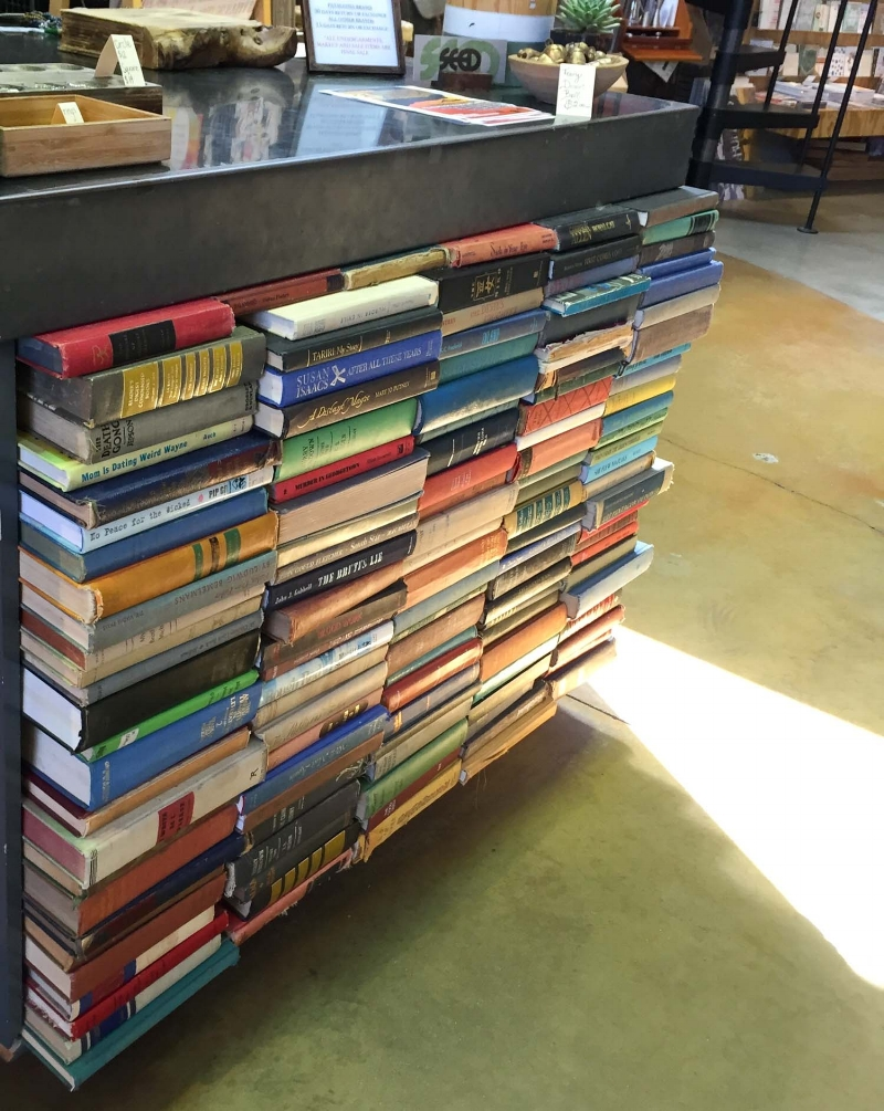 A cool way to upcycle old books, Seed People's Market