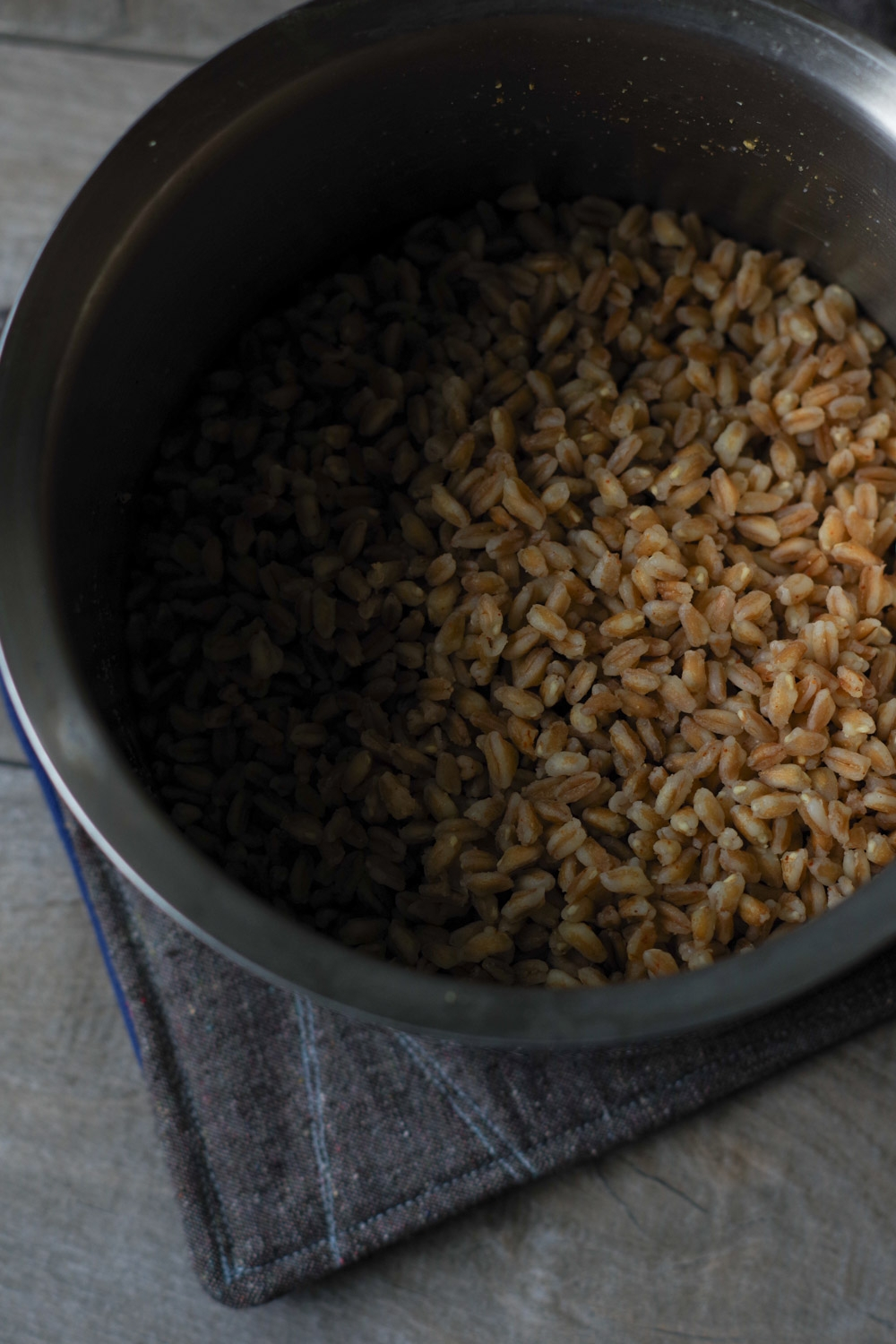 Farro for Thanksgiving in a Shepherdless Pie, by Beautiful Ingredient.