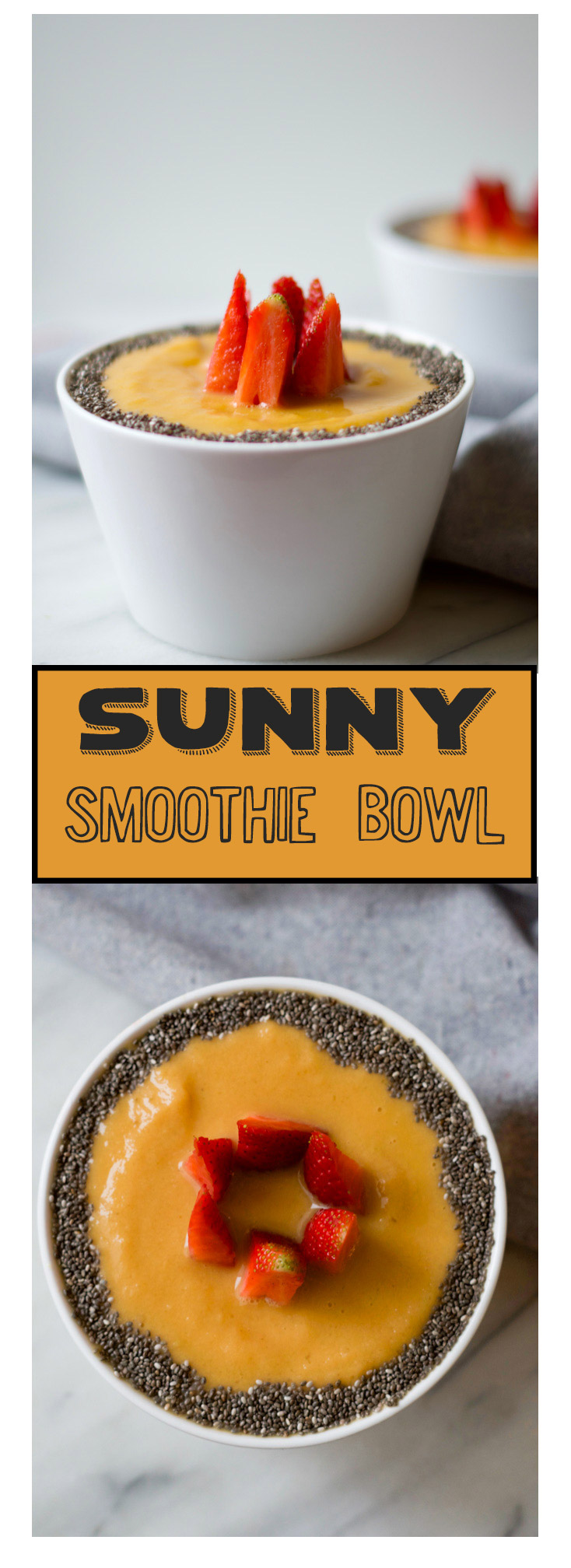 SUNNY SMOOTHIE BOWL BY BEAUTIFUL INGREDIENT