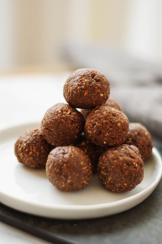 Vegan Chocolate Orange Bliss Balls by Beautiful Ingredient