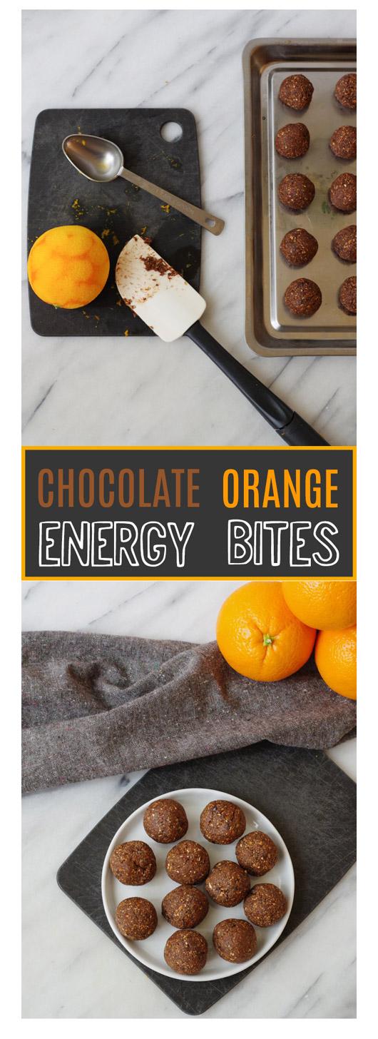 Quick & Easy Vegan Chocolate Orange Energy Bites by Beautiful Ingredient
