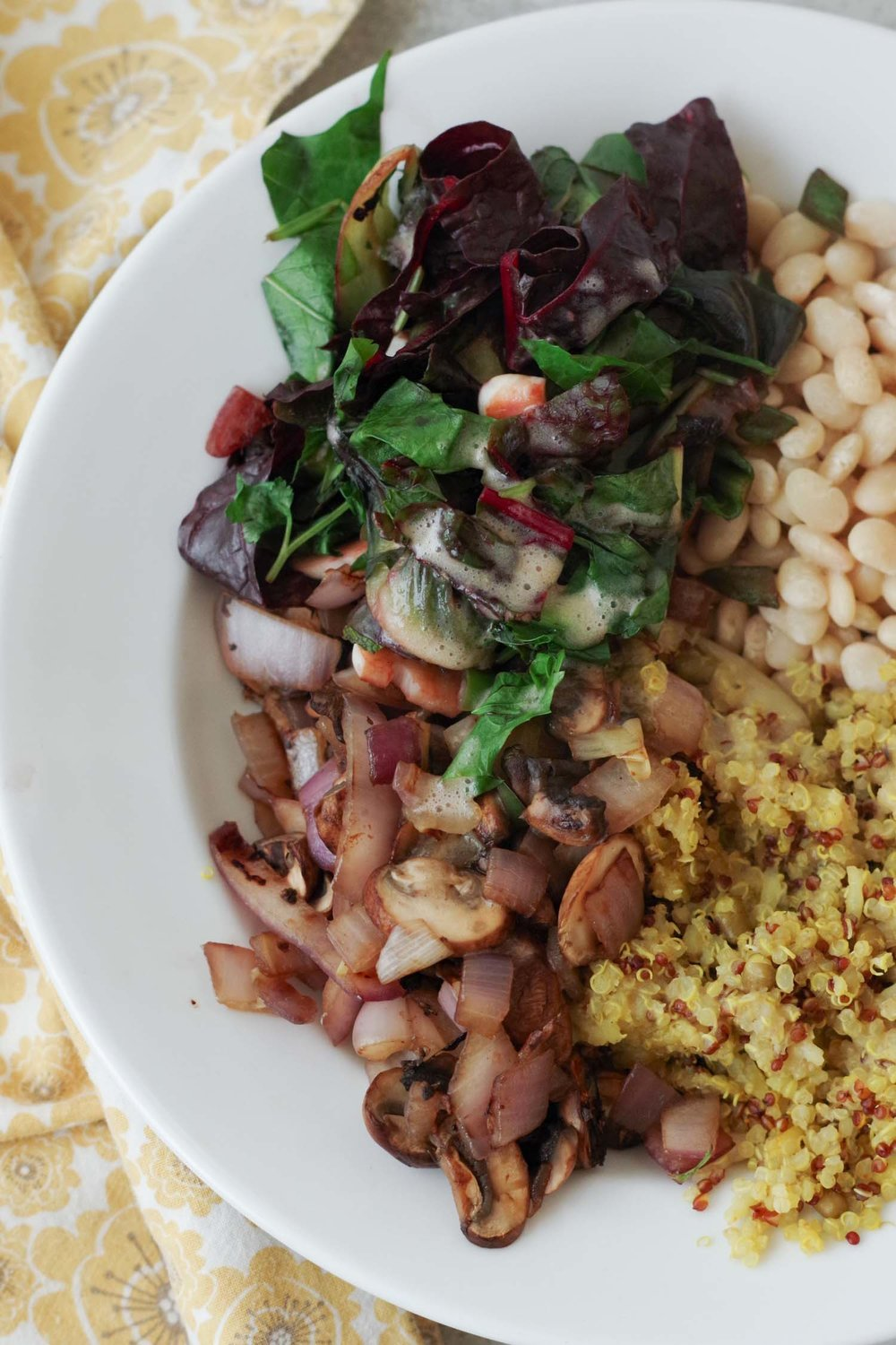 The Go-To Oil-Free Salad dressing adds flavor to Buddha Bowls, by Beautiful Ingredient