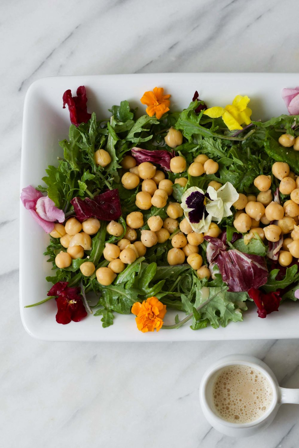 Make a beautiful salad easily with The Go-To Oil-Free Salad Dressing by Beautiful Ingredient.