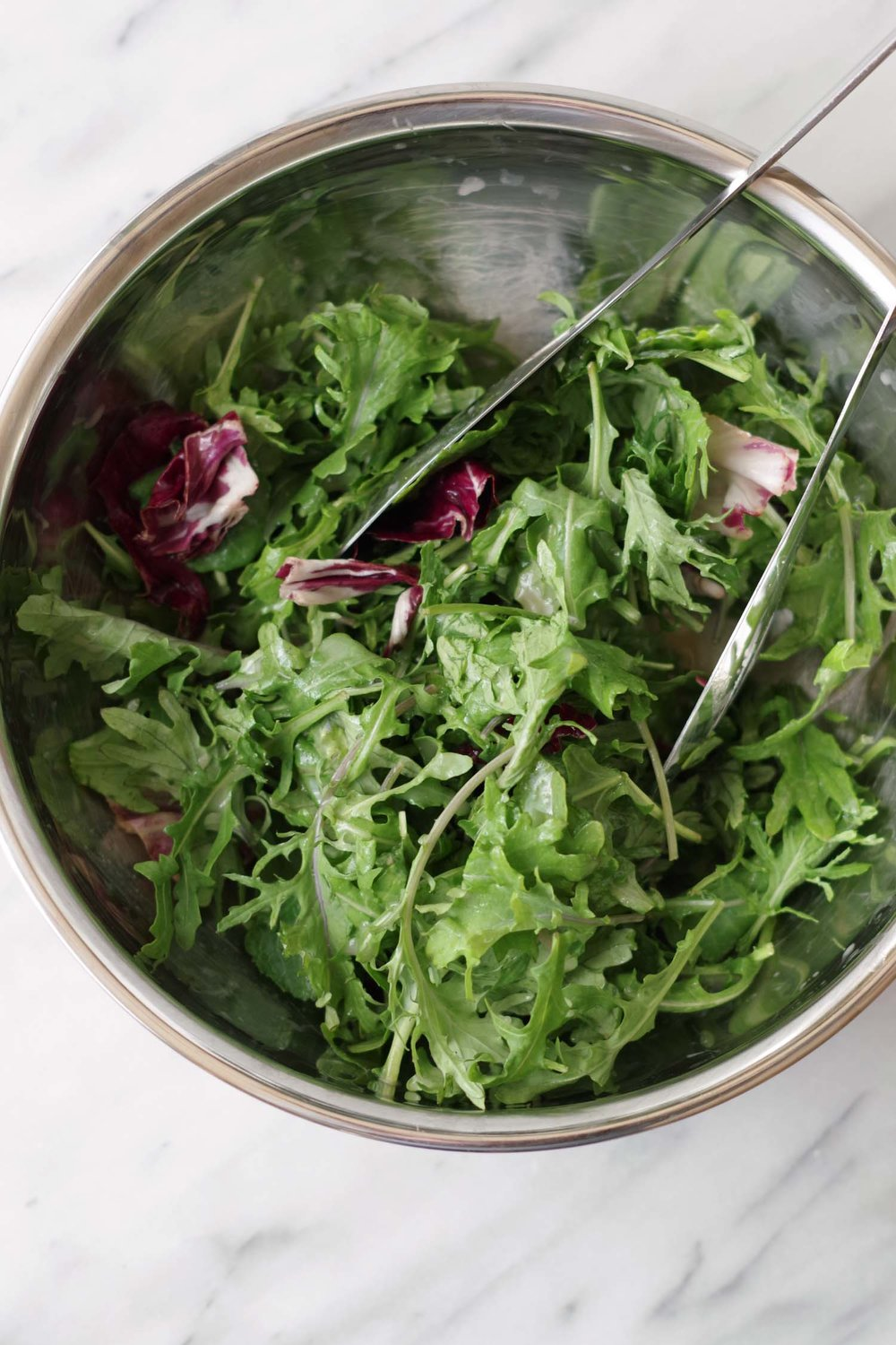 Toss your next salad with The Go-To Oild-Free Salad dressing, by Beautiful Ingredient