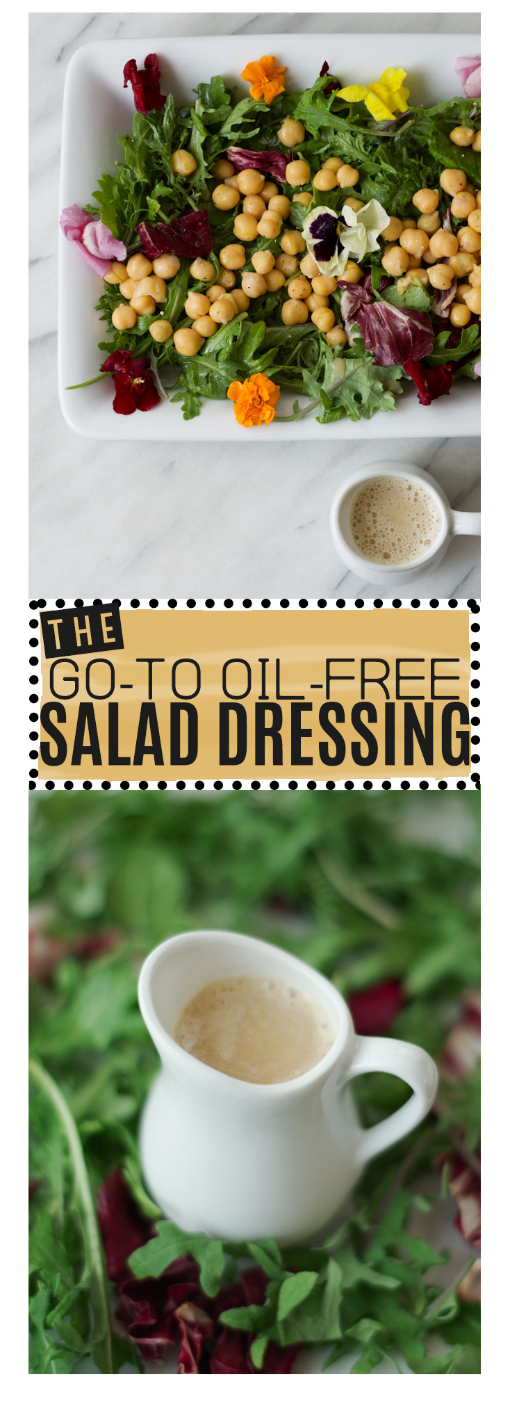 So easy to make, so easy to love, this lemony salad dressing will keep you going back for more veg! by Beautiful INgredient