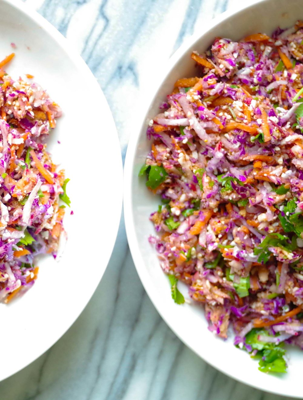 Clean-out-the-fridge Shredded Salad, By Beautiful Ingredient.
