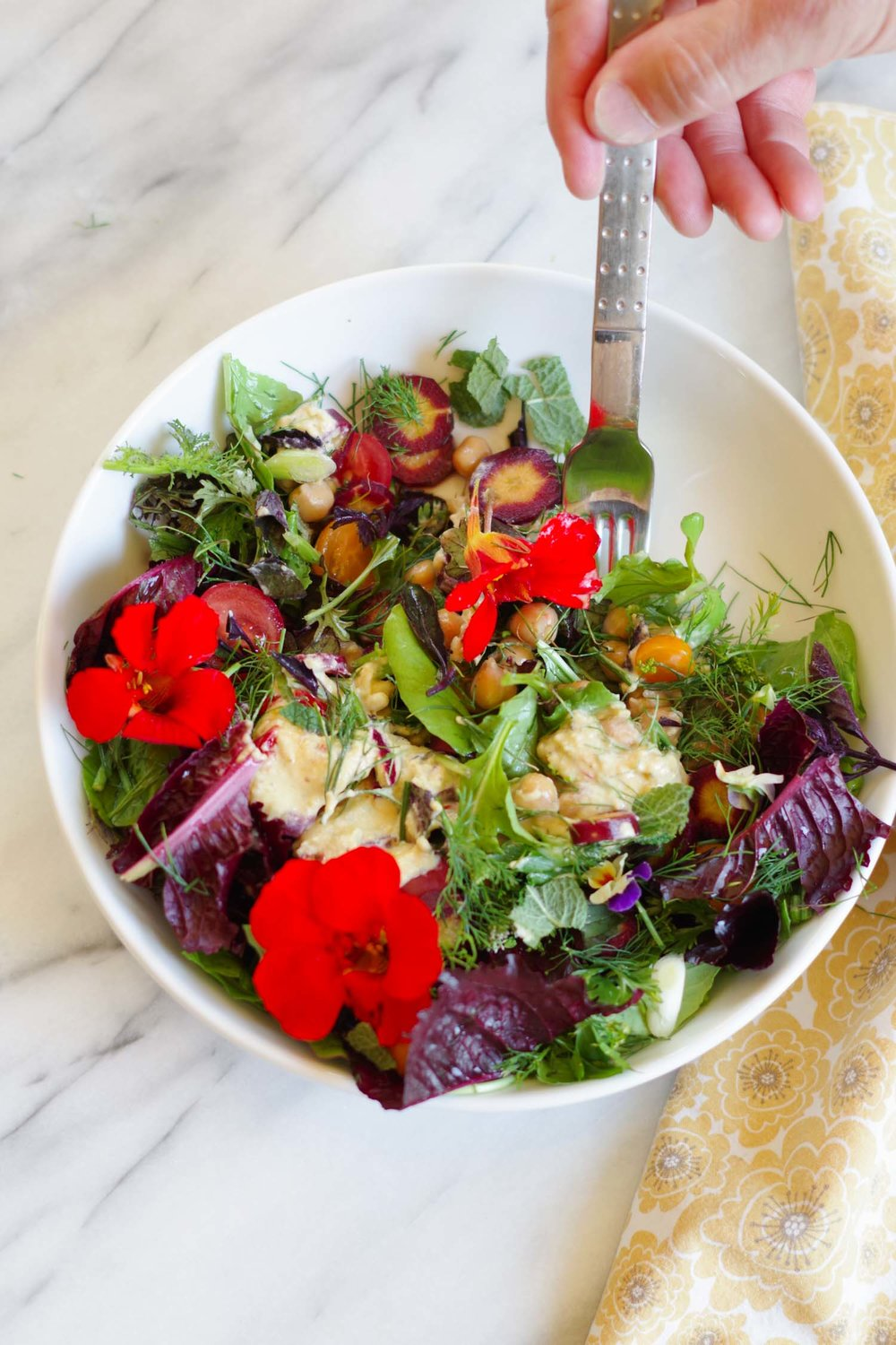 The Ultimate Garden Salad, by Beautiful Ingredient
