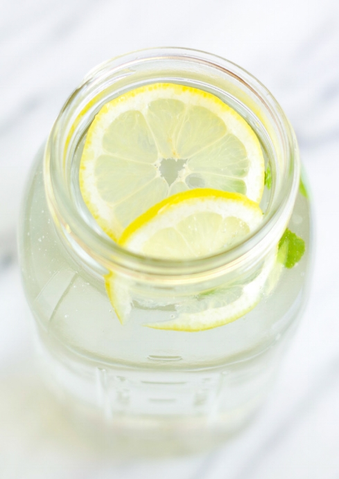 Lemon Mint Water, by Beautiful Ingredient