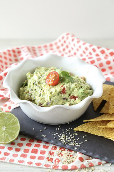 Vegan Hempy Guacomole, by Triad to Wellness