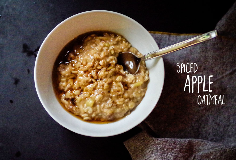 Spiced Apple Oatmeal, by Beautiful Ingredient