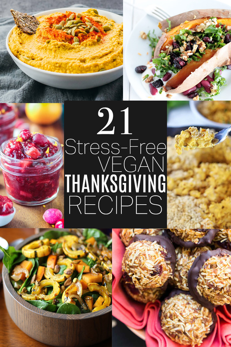21 Stress-Free Vegan Thanksgiving Recipes by Beautiful Ingredient
