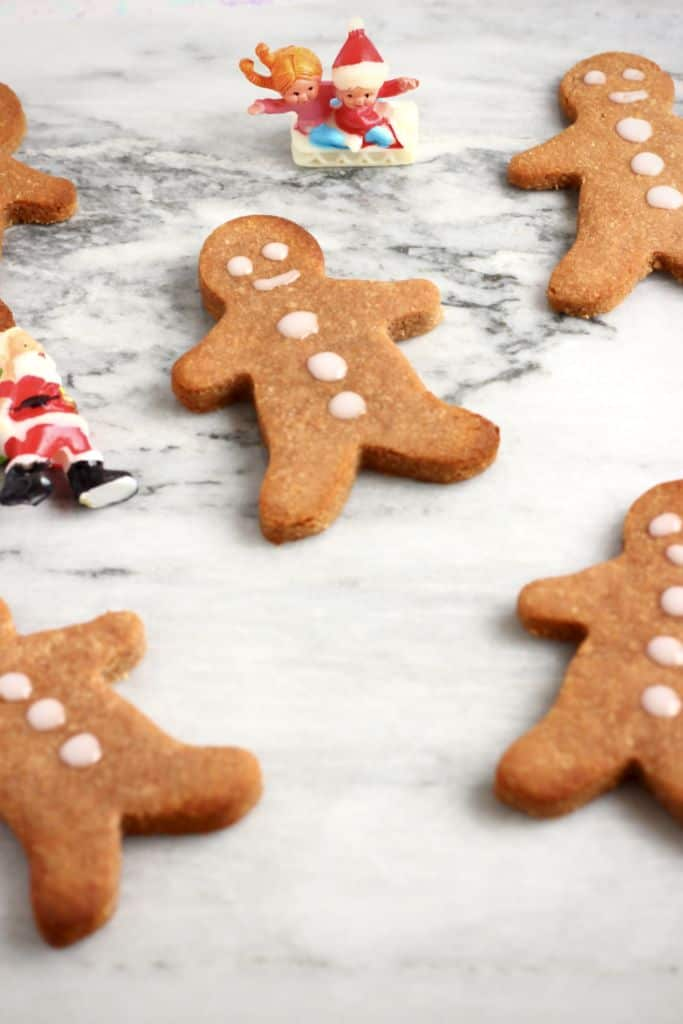 Vegan & Gluten-Free Gingerbread Cookies by Rhian of Rian's Recipes