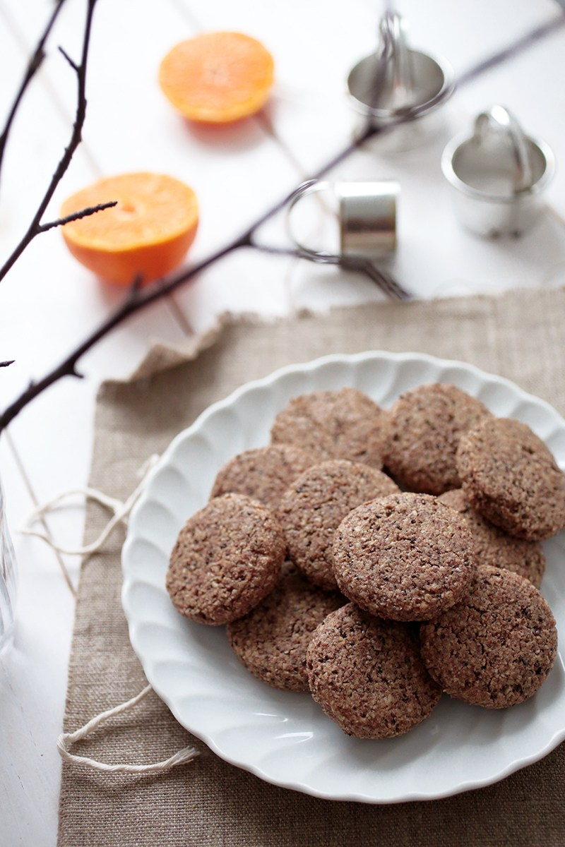 Vegan & Gluten-Free Almond and Cinnamon Cookies by Evi of Green Evi
