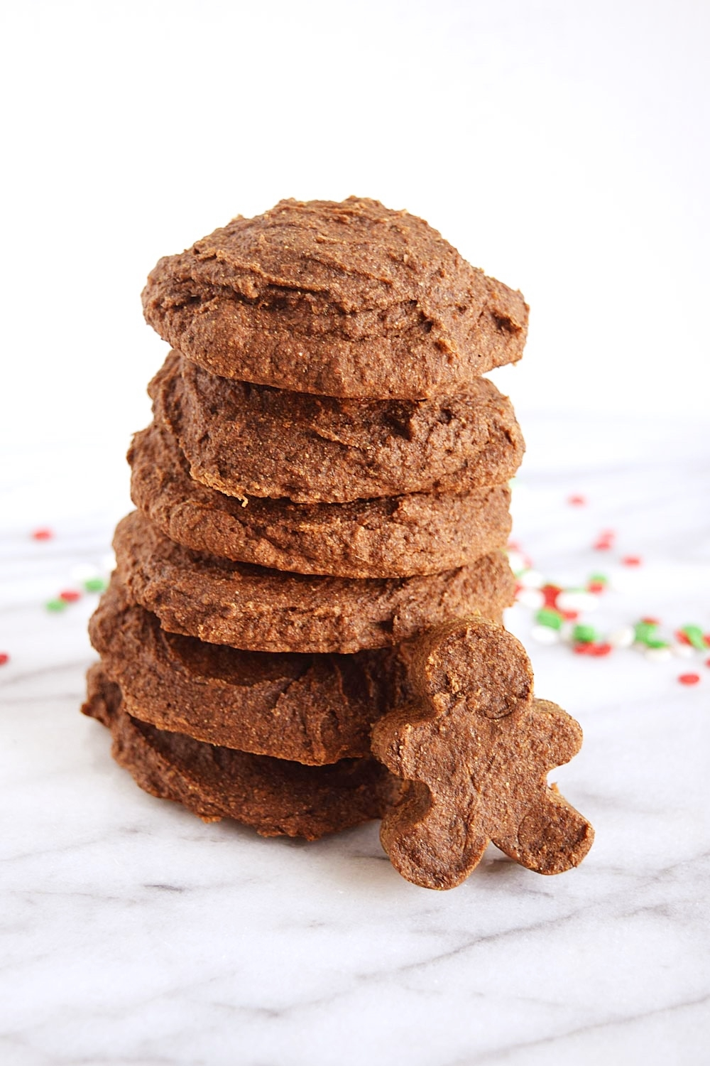 Vegan Soft Batch Gingerbread Cookies by Sara of Beaming Banana