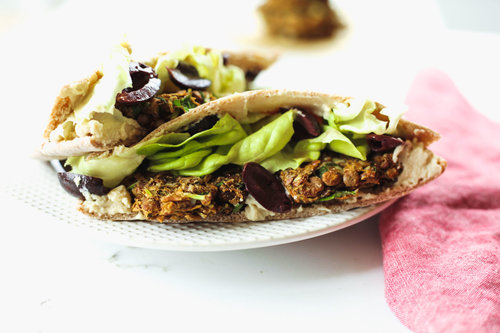 Book review recipe the simply vegan cookbook by dustin harder baked lentil falafel sandwich recipe from the simply vegan cookbook by dustin harder forumfinder Gallery