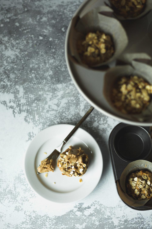 Healthy Breakfast Muffins from The Veginner's Cookbook by Bianca Haun & Sascha Naderer.Photo by Kari of Beautiful Ingredient. Vegan