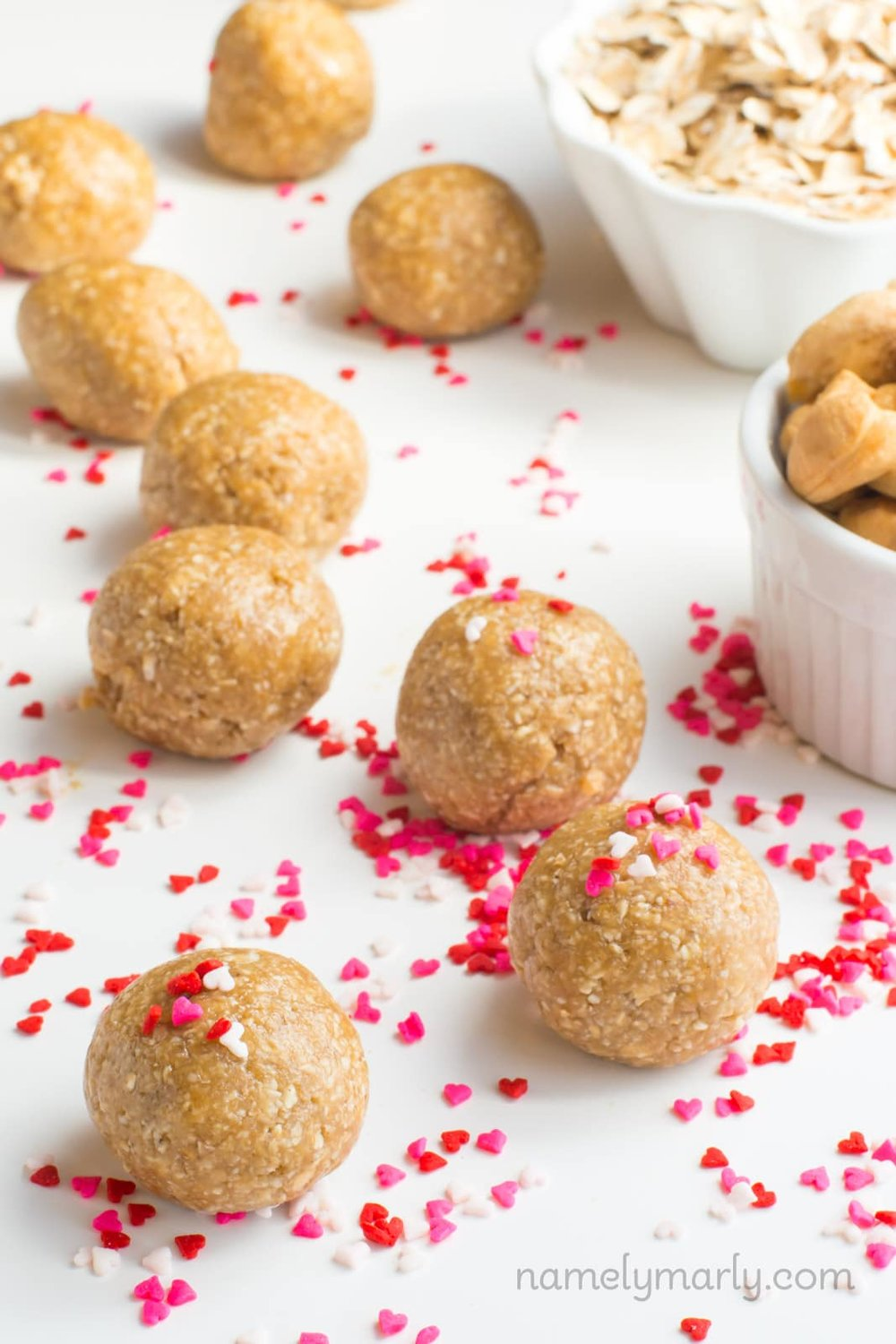 No-Bake Sugar Cookie Energy Bites, GF Vegan | Namely Marly