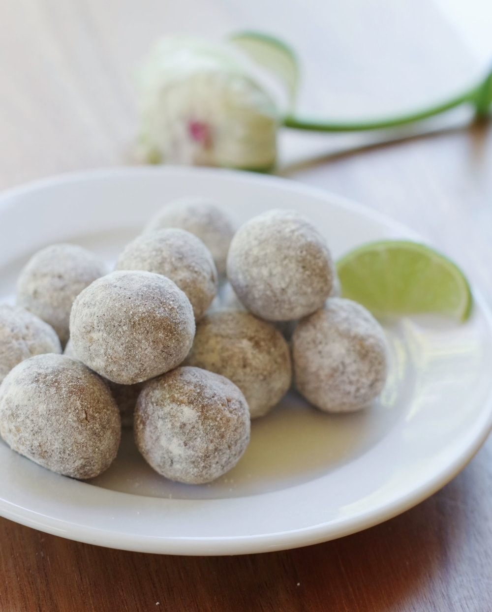 Coconut Lime Energy Bites, GF vegan | Beautiful Ingredient