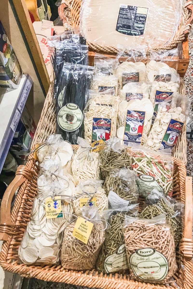 Dry pasta is often vegan in Italy. Photo by Kari | Beautiful Ingredient.