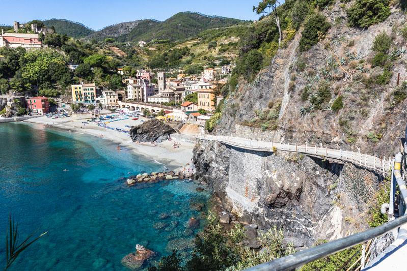 Monterosso al Mare, Cinque Terre, Italy. Photo by Kari | Beautiful Ingredient.