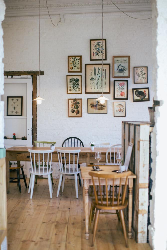 Architectuurfotograaf restaurant