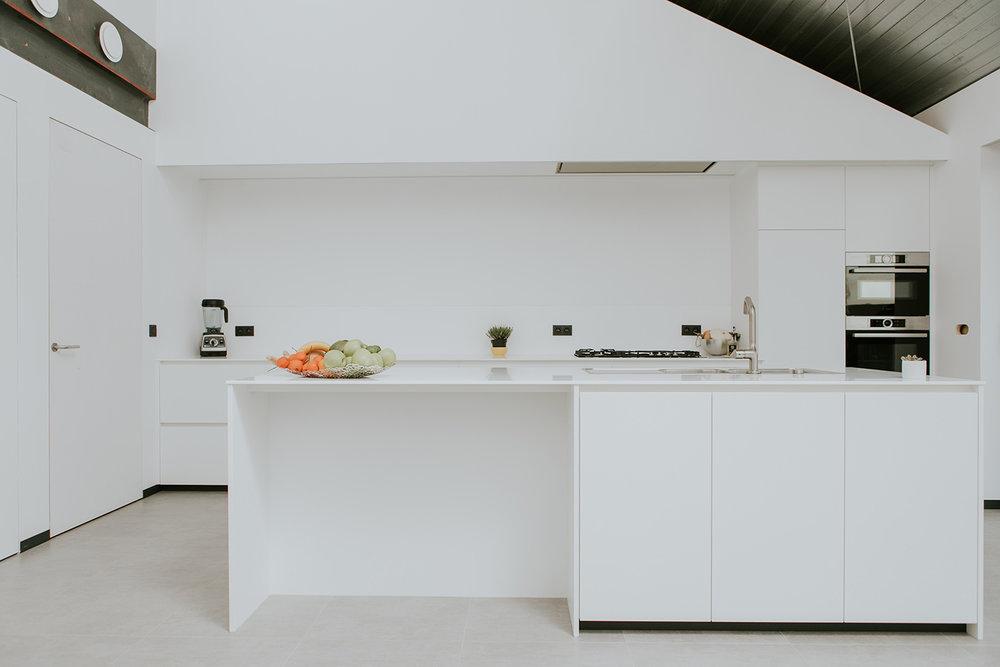 Keuken door B'Art Interieur te Sint-Niklaas