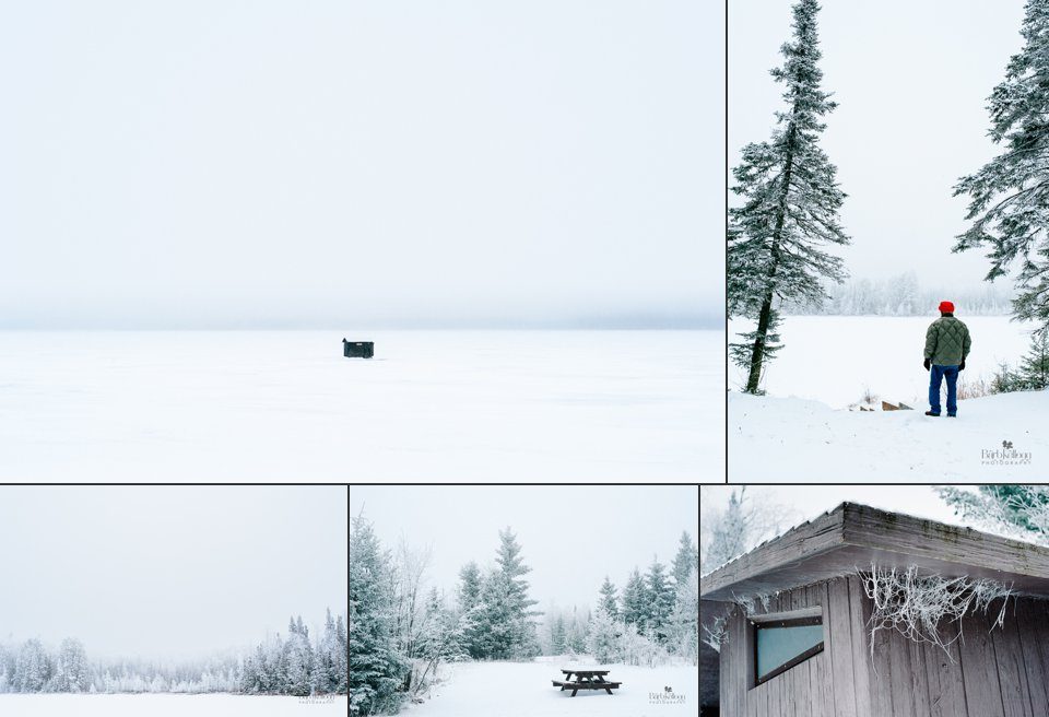 collage of winter scenes in minnesota