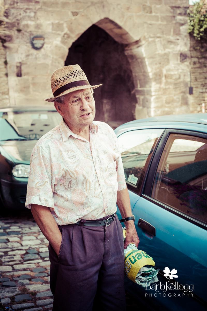 Man visiting Mainbernheim, Germany