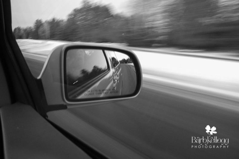 car, driving, blur, monochrome, black and white, fuji x10, reflection, mirror, van
