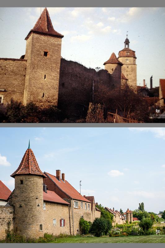Mainbernheim, 50s and Today