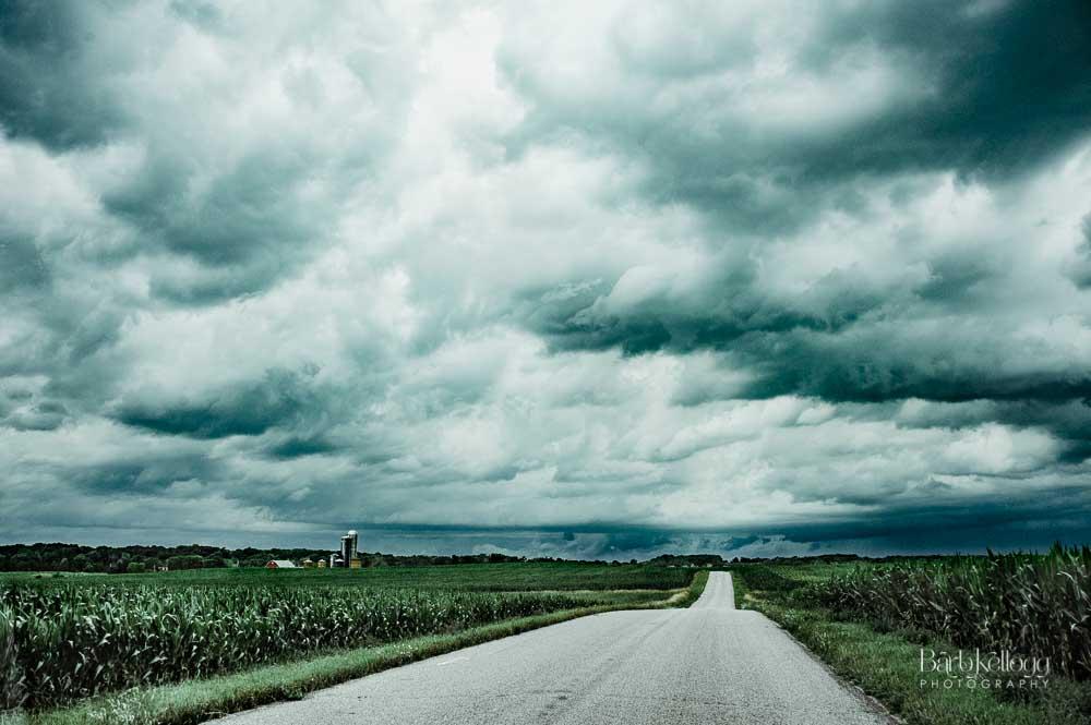 ... a constant storm ... -