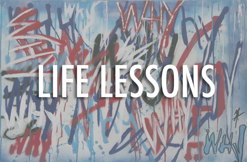 LIFE LESSONS THIS SERIES IS AS SIMPLE AS ITS TITLE BUT GOES AS DEEP AS THE EXPERIENCE SHARED BY ITS CREATOR. LIFE, CULTURE, SOCIETY, GOVERNMENT, RELIGION AND SPIRITUALITY HAVE SERVED AS SOME OF MATEO BLU'S STRONGEST INSPIRATIONS IN HIS CREATIVE JOURNEY.