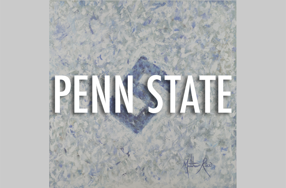 PENN STATE FROM WE ARE PENN STATE TO WE ARE ART. THIS SERIES HIGHLIGHTS THE LAYERS IT TAKES TO BUILD AND UNDERSTAND THE BOND FROM PAST TO FUTURE PSU STUDENTS, FANS, AND ALUMNI. FROM LIVING ROOMS, TO STUDIES, TO MAN CAVES, THIS SERIES REPRESENTS THE PRIDE OF THE NITTANY LIONS.